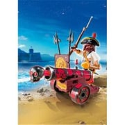 PlayMobil Interactive Cannon with Buccaneer, Red (ALIAD3997)