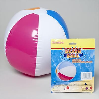 DDI Inflatable Beach Ball - 20 in.