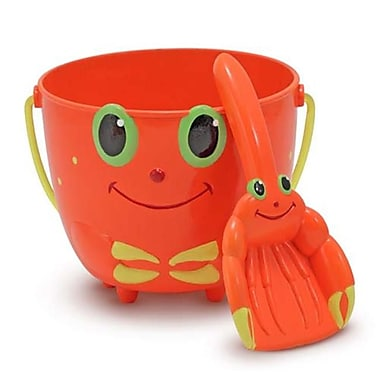 Melissa & Doug Clicker Crab Pail and Shovel (DOBA29080)
