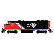SPWhistleStop HO Gold GP402W CN 9639 270 DCC Ready Locomotive Model (STVN1157)
