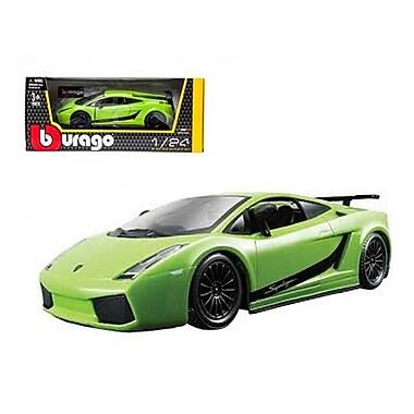Bburago Lamborghini Gallardo Superleggera Green 1-24 Diecast Car Model (DTDP377)