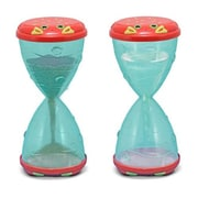 Melissa & Doug Clicker Crab Hourglass Sifter & Funnel (DOBA29088)