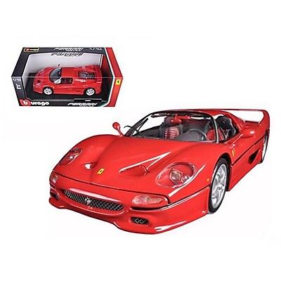 Bburago Ferrari F50 Red 1-18 Diecast Model