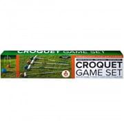 Kole Imports Wooden Croquet Game Set, 3 Piece (KOLIM84062)