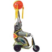 SHAN Collectible Tin Toy - Elephant on Scooter (AXNRT1748)