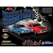AFX-Racemasters Muscle Car Shootout with Lap Counter (NSIN1122)