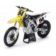 New-Ray Toys 1 - 12 Ken Roczen Suzuki RM-Z450 Bike - Pack of 20 (NWRT049)