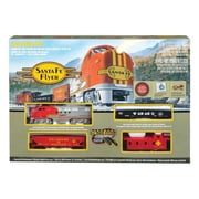 Bachmann Industries 00647 Santa Fe Flyer Ho Scale Electric Train Set (ACHR12087)