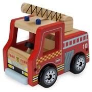 BrybellyHoldings Wooden Wheels Natural Beech Wood Fire Engine (BRYBL3744)