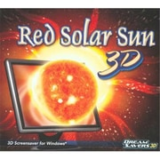Dream Saver 3D 125681 Red Solar Sun 3D Screensaver (XS125681)