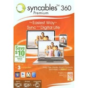 Encore Software 138888 Syncables 360 Premium - 3 User Family Pack (XS138888)
