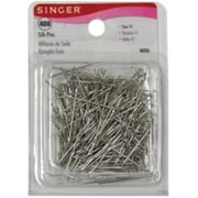 Merchandise Singer Silk Pins Steel, 400 Count (MCDS21946)