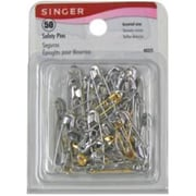 Merchandise Singer Safety Pins Assorted, 50 Count (MCDS21862)