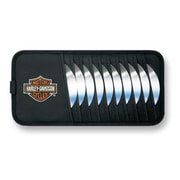 Plasticolor 6302 Cd Holder - Harley-Davidson Logo (KSAO98327)