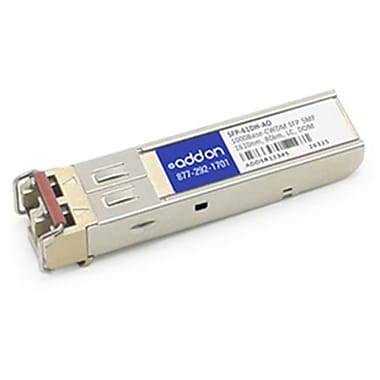 Add-On-Computer Peripherals Rad SFP-61DH Compatible TAA Compliant 1000Base-CWDM SFP Transceiver (SYBA8144)