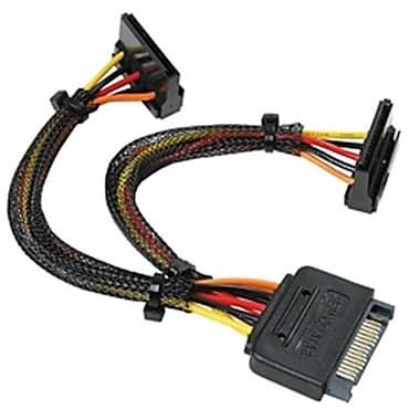 Link Depot 15-pin Sata 2 Power Y Cable, 6in (EFLTE3221)