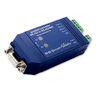 B plus B Smartworx 9P Optically Isolated RS-232 to RS-485 Converter (SYBA9214)