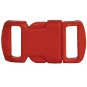 Fox Outdoor Q-R Curved Bracelet Buckles - Red (FXOD5651)