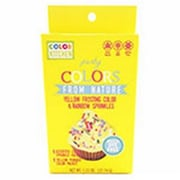 Color Kitchen Food Coloring Plus Natural Sprinkle Kits, Yellow (FNTR14392)