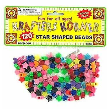 Bulk Buys Star Shaped Crafting Beads Case Of 24 (DLRDY094344)