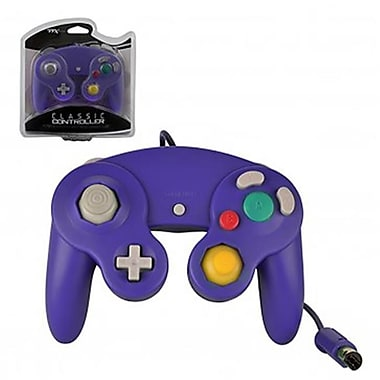 TTX Tech Gamecube Controller for Wii Wired, Purple (INNX113)