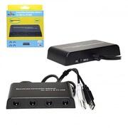 Mayflash Wii & Wii U GC Controller Adapter for Wii & Wii U - 4 Port (INNX1673)