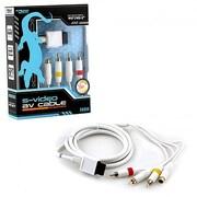 KMD S-Video & AV Cable for Wii & Wii U (INNX1683)