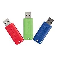 3-Pack Verbatim PinStripe 16GB USB 3.0 Flash Drives Deals