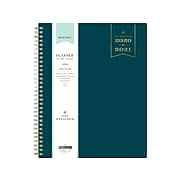 "2020-2021 Blue Sky 8"" x 10"" Planner, Day Designer, Solid Peacock (118331)"