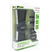 KMD Xbox 360 Dual Induction Charger, Black (INNX1737)