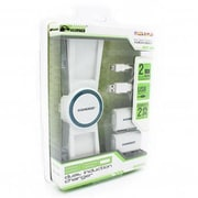 KMD Xbox 360 Dual Induction Charger, White (INNX1738)