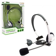 KMD Xbox 360 Live Chat Headset with Mic , White - Small (INNX1752)