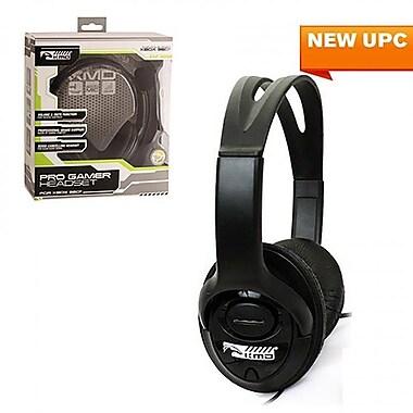 KMD Xbox 360 Live Pro Gamer Headset with Mic, Black - Large (INNX1753)