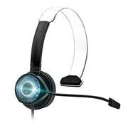 Performance Design Products Afterglow Mono Chat Communicator Xbox 360 - Black & Blue (DAHD27738)
