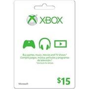 XBox Live Cards Microsoft Live Card 15 Dollar Xbox Videogame (DAHD19278)