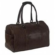 Piel Leather 2974 - BRN Vintage Carry - On Satchel - Brown (PIEL09151)