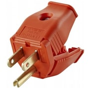 Leviton Mfg 2 Pole 3 Wire Orange Grounding Plug (JNSN67510)