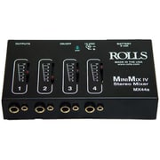Rolls Mini-Mix IV Mini 4 Channel Audio Mixer (TBALL11651)