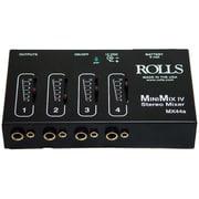 Rolls Mini-Mix IV Mini 4 Channel Audio Mixer (TBALL11651)
