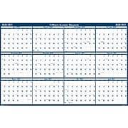 "2020-2021 House of Doolittle 24"" x 37"" Wall Calendar, Academic Classic Reversible, White (395-21)"