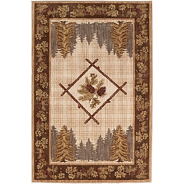 Mohawk Home Destinations Kobuk Gold Rug (086093555696)