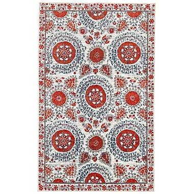 Mohawk Home Strata Suzani Sophisticate Crimson Rug (797786017932)