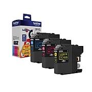 Brother LC2013PKS Cyan/Magenta/Yellow Standard Yield Ink Cartridge, 3/Pack (LC2013PKS)