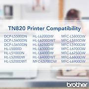 Brother TN-820 Black Standard Yield Toner Cartridge