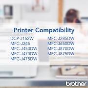 Brother LC101BK Black Standard Yield Ink Cartridge