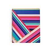 """Carolina Pad Happy Go Lucky 1-Subject Notebook, 8.5"""" x 10.5"""", College Ruled, 80 Sheets, Multicolor (00017)"""