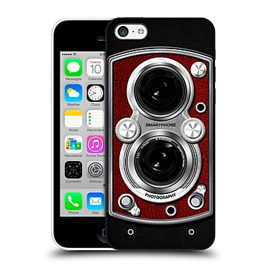 Official Nicklas Gustafsson Retro Vintage Vintage Camera Red Hard Back Case For Apple Iphone 5C