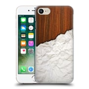 Official Nicklas Gustafsson Textures Wooden Crumpled Paper Hard Back Case For Apple Iphone 7