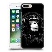 Official Nicklas Gustafsson Animals Black Monkey Business Hard Back Case For Apple Iphone 7 Plus