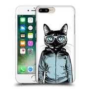 Official Nicklas Gustafsson Animals Cool Cat Hard Back Case For Apple Iphone 7 Plus